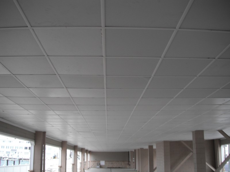 Ceiling tile grid covers